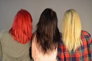 Colored, over-groomed, and bleached hair needs a hair treatment