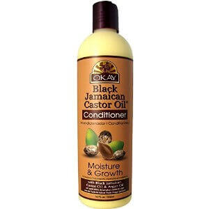 Okay Black Jamaican Castor Oil Conditioner