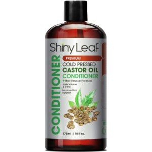 Shiny Leaf Cold Pressed Castor Oil Conditioner