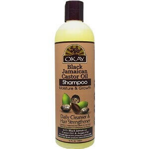 Okay Black Jamaican Castor Oil Shampoo
